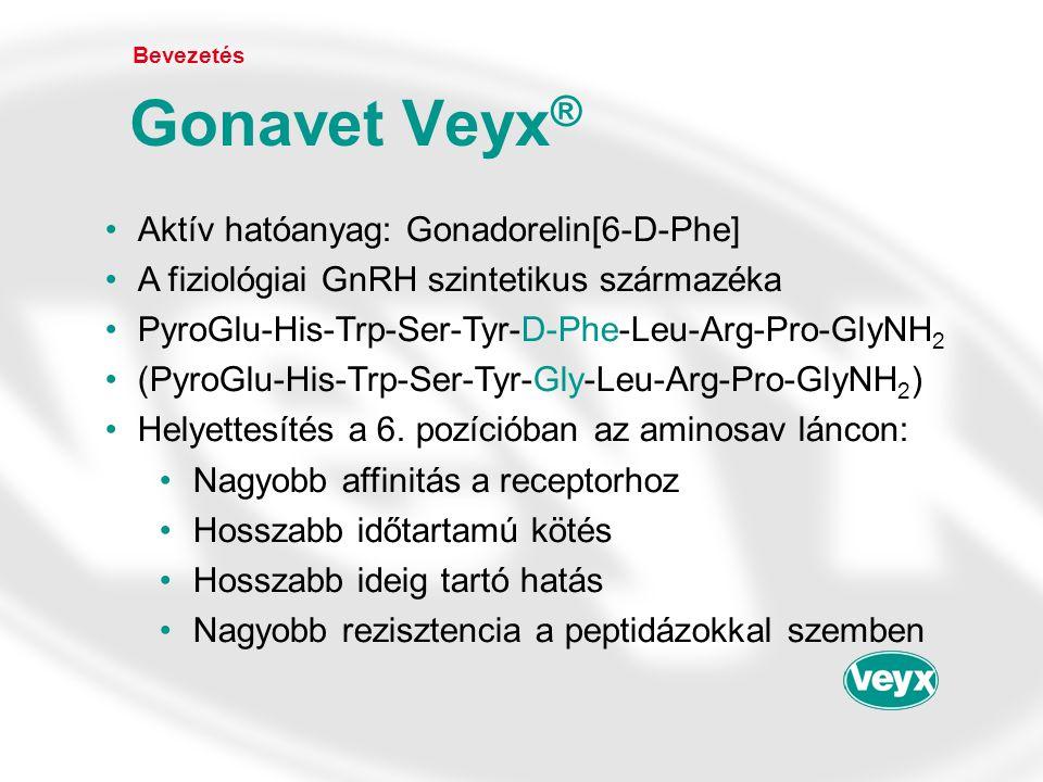Gonavet Veyx® Aktív hatóanyag: Gonadorelin[6-D-Phe]